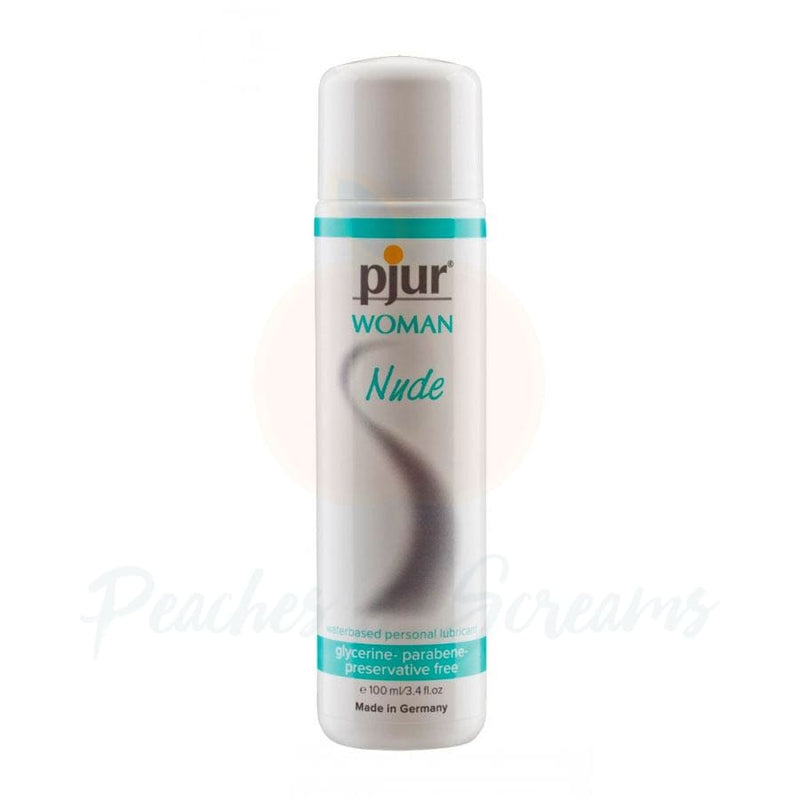 Pjur Woman Nude Water-Based Personal Intimate Sex Lube 100ml - Peaches and Screams