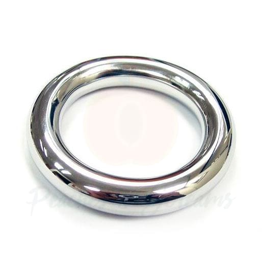 Rouge Stainless Steel Round Cock Ring 40mm - Necronomicox