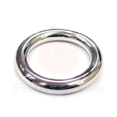 Rouge Stainless Steel Round Cock Ring 45mm - Peaches and Screams
