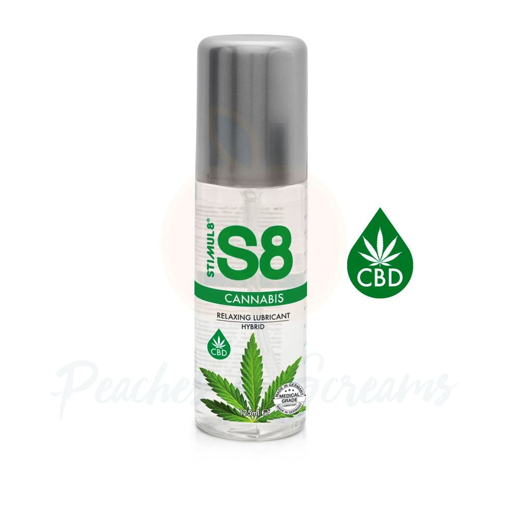 S8 Hybrid Water Based CBD Sex Lube 125ml - Peaches and Screams