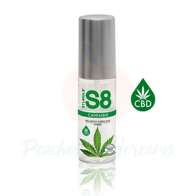 S8 Hybrid Water Based CBD Sex Lube 50ml - Necronomicox