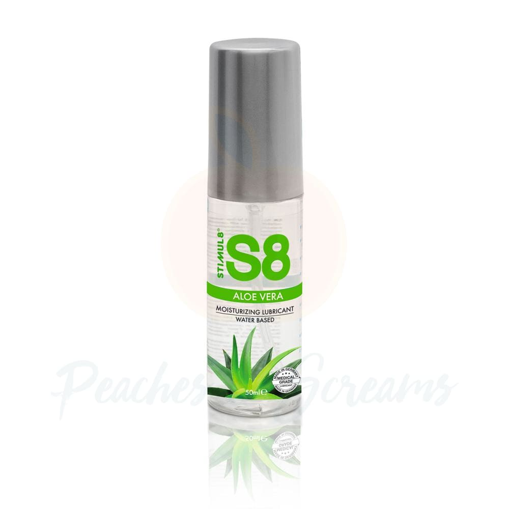 S8 Water Based Aloe Vera Sex Lube 50ml - 🍑 Peaches and Screams