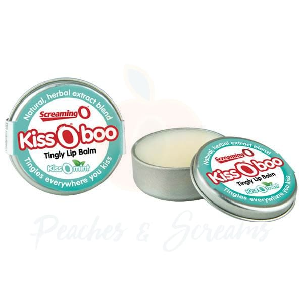 Screaming O Kiss-O-Boo Tingly Lip Balm Mint - 🍑 Necronomicox