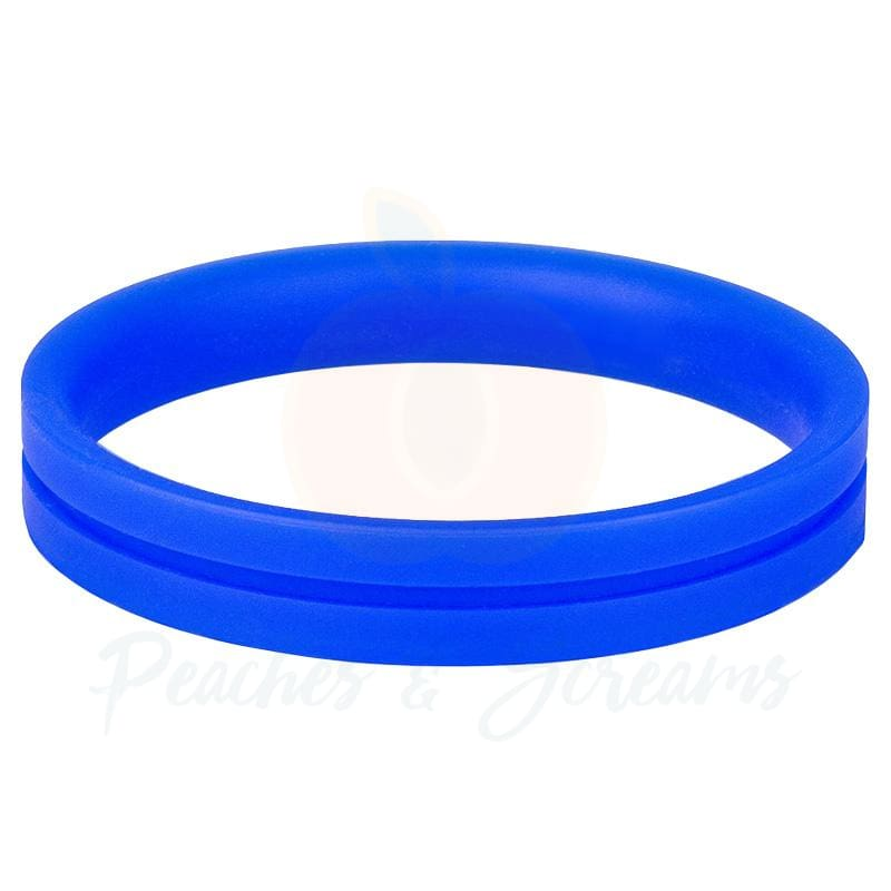 Screaming O RingO Pro Blue XL Stretchy Silicone Cock Ring - 🍑 Necronomicox