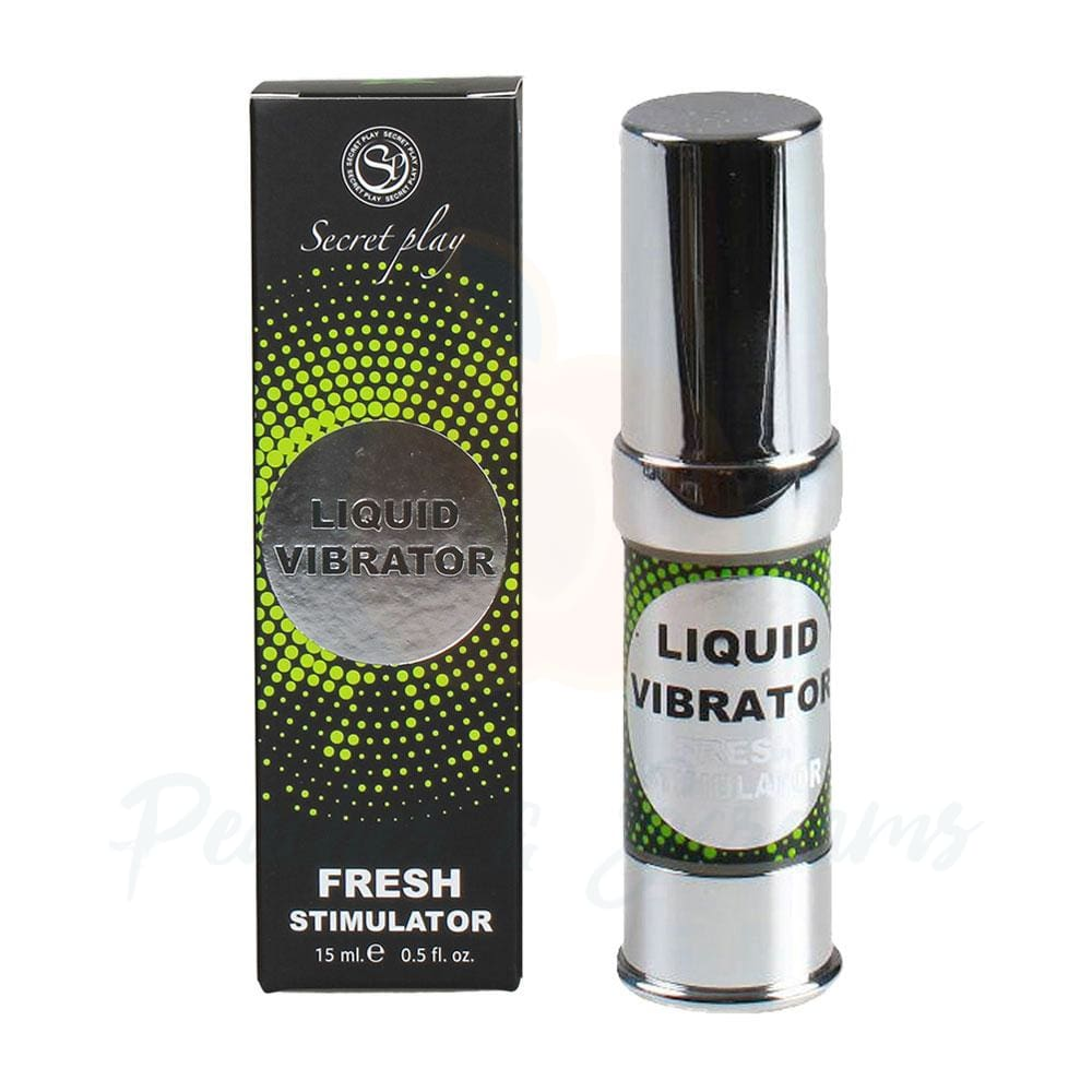 Secret Play Liquid Vibrator Unisex Fresh Stimulating Gel - Necronomicox