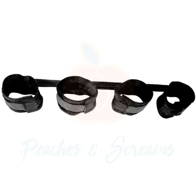 Sex and Mischief Spread the Love Bar Restraints for Bondage - Necronomicox