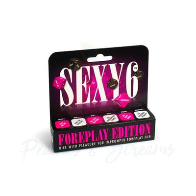 Sexy 6 Couples Foreplay Dice Game Foreplay Edition - Necronomicox