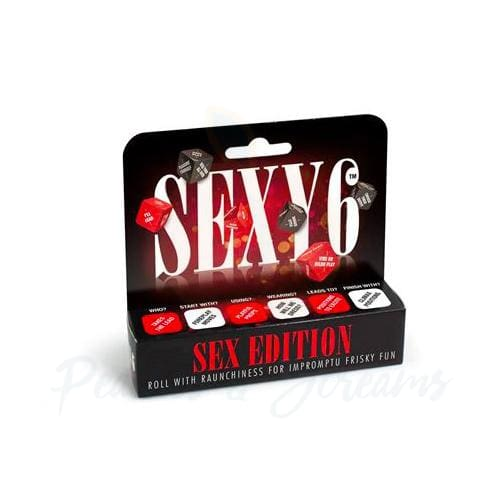 Sexy 6 Couples Foreplay Dice Game Sex Edition - Peaches and Screams