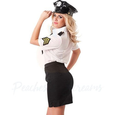 Sexy Police Officer Cop Roleplay Costume for Her - Necronomicox