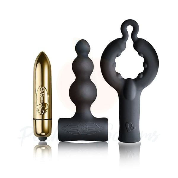 Silhouette Be Mine Bullet Vibrator and Butt Plug Kit - Necronomicox