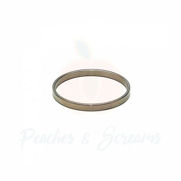 Stainless Steel Love Cock Ring with 30mm Diameter for Men - Peaches and Screams