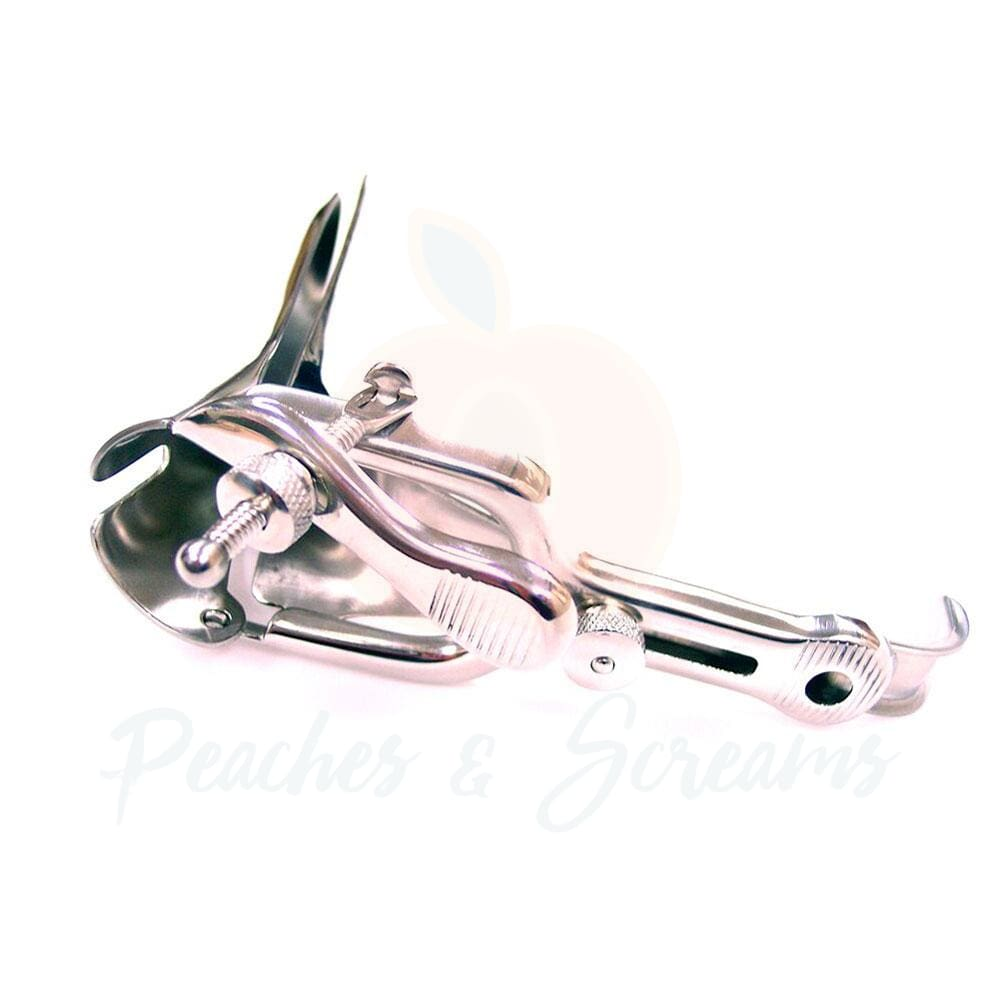Stainless Steel Vaginal Speculum for BDSM Bondage Play - 🍑 Necronomicox
