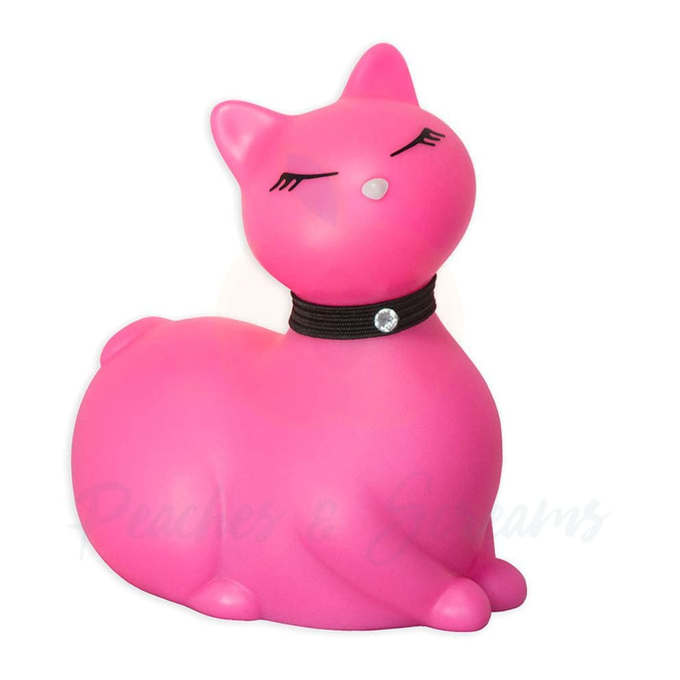 Stylish Pink Kitty Vibrator for Clitoral Stimulation and Massage - 🍑 Necronomicox