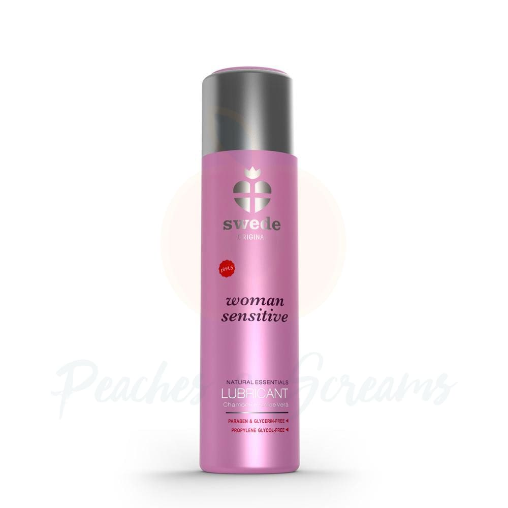 Swede Sensitive Chamomile and Aloe Vera Water Based Sex Lube 60ml - 🍑 Peaches and Screams