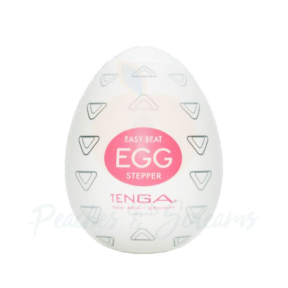 Tenga Stretchy Disposable Stepper Egg Male Masturbator - Necronomicox