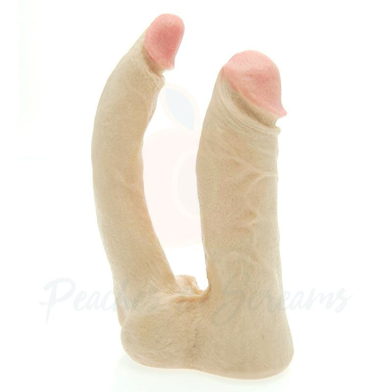 Vac-U-Lock Nude Double-Penetrator Dildo Attachment - Necronomicox