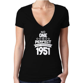 65 Year Old Birthday No One Is Perfect Except Those Born In 1951 65Th
