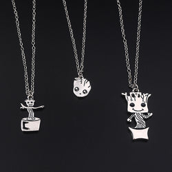 Charming Baby Groot Necklace