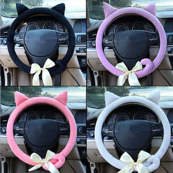 Stylish Cat Steering wheel cover