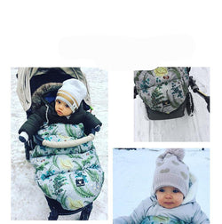 Baby sleeping bag for stroller