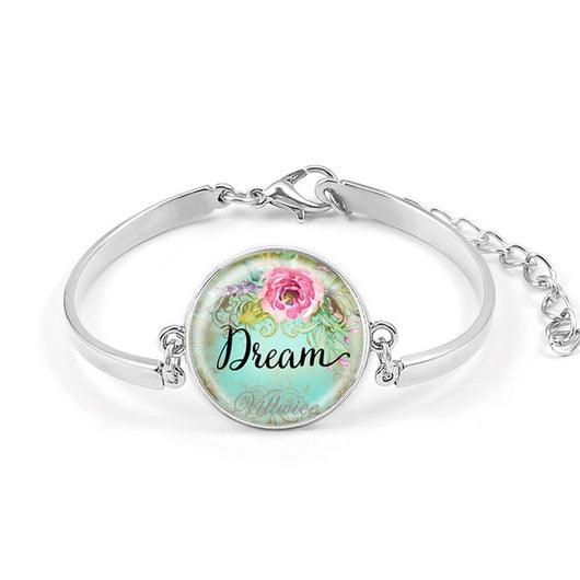 Faith, Hope, Love & Dream bracelets