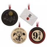 Harry Potter - Decoration Set - Letter, Hogwarts, Dobby, 9 3/4