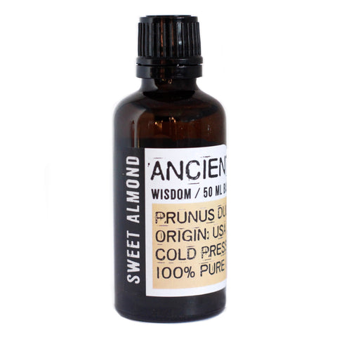 Sweet Almond Base Oil 50ml Bottle from Mystical and Magical