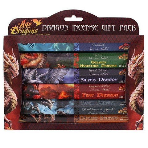 Boxed Age of Dragons 120 Incense Sticks Gift Pack from Mystical and Magical