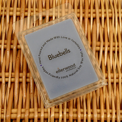 Bluebells Soy Wax Melt Hand Made from Mystical and Magical Halifax