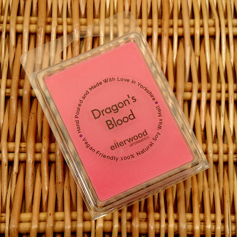 Dragon's Blood Soy Wax Melts Hand Made from Mystical and Magical Halifax