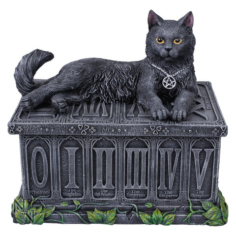 Fortune's Watcher Tarot Box Storage 17cm Nemesis Now