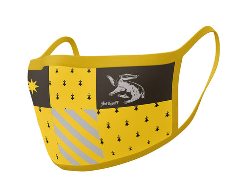 Hufflepuff Face Mask Covers from Mystical and Magical Halifax