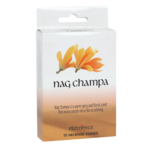 Elements Nag Champa Incense Cones