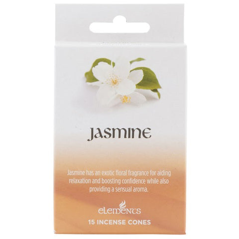 Elements Jasmine Incense Cones