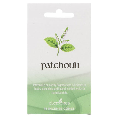 Elements Patchouli Incense Cones