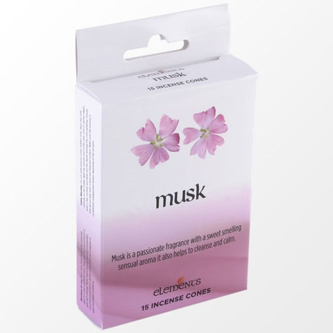 Elements Musk Incense Cones