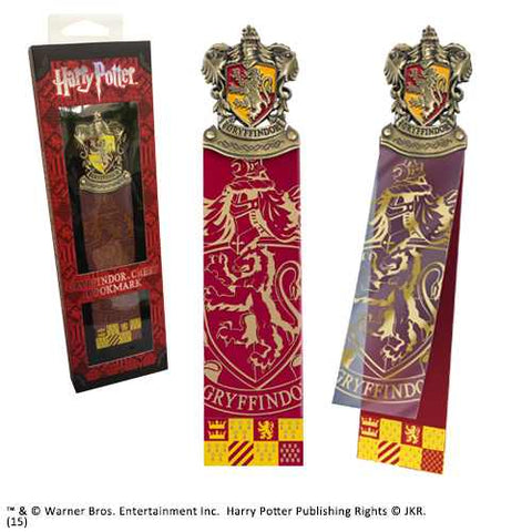 Noble Collection Gryffindor Crest Bookmark from Mystical and Magical