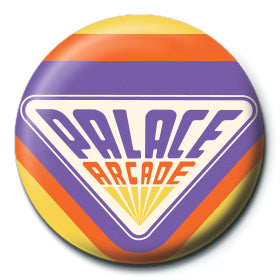 Stranger Things Palace Arcade 25mm Button Badge