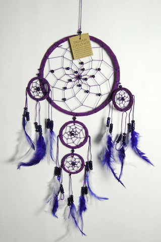 Purple and White Dream Catcher from Mystical and Magical Halifax