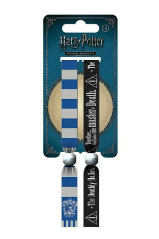 Harry Potter Ravenclaw Crest Hogwarts House Festival Wristbands from Mystical and Magical Halifax