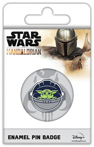 Star Wars The Child Mandalorian Pin Badge from Mystical and Magical