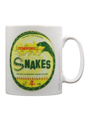 Weasley and Weasley Jumping Snakes Mug - Harry Potter