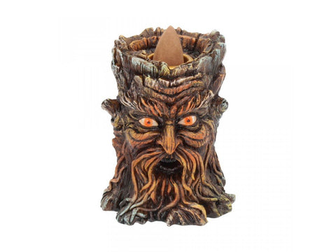 Nemesis Now Aged Oak Backflow Incense Cone Holder from Mystical and Magical Halifax