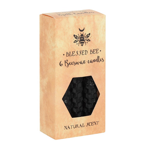 Blessed Bee Black Beeswax Magic Spell Candles for Protection from Mystical and Magical Halifax