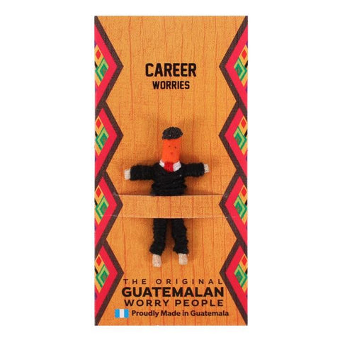Career Personalised Guatemalan Worry Doll