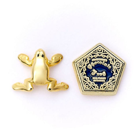 Chocolate Frog and Box Stud Earrings - Harry Potter