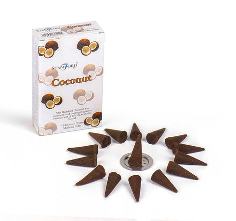 Coconut Stamford Incense Cones