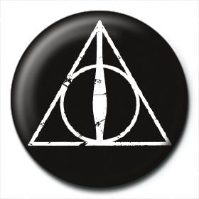 Deathly Hallows 25mm Button Badge