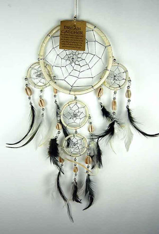 Natural Dreamcatcher With 4 Circles