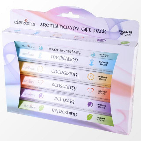 Aromatherapy 120 Incense Sticks Gift Pack